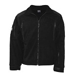 "MFH Fleece-Jacke, ""Heavy-Strike"", schwarz - Gr. L"