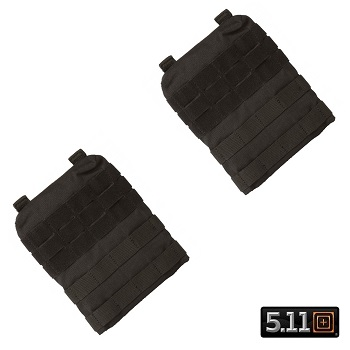 5.11 ® TacTec Molle/SAPI Side Panels for Plate Carrier - Black