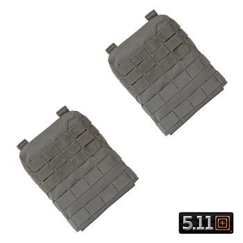 5.11 ® TacTec Molle/SAPI Side Panels for Plate Carrier - Storm