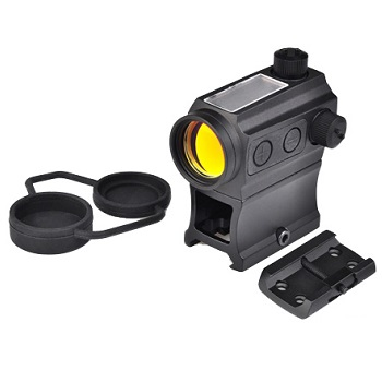 Aim-O T-1 (Solar & Battery) RedDot Set - Black