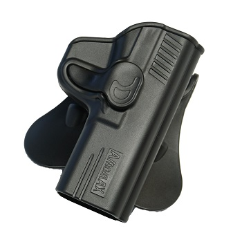 Amomax Paddle Holster für M&P 9/40 Serie - Black