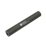 APS Aluminium Silencer CW/CCW Black - 230mm (XL)