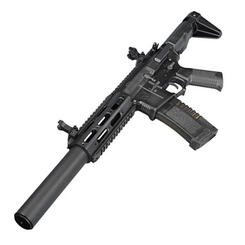 "Ares x Amoeba M4 ""Honey Badger"" Carbine-Lenght EFCS AEG - Black"