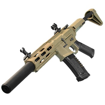 "Ares x Amoeba M4 ""Honey Badger"" Carbine-Lenght EFCS AEG - Desert"