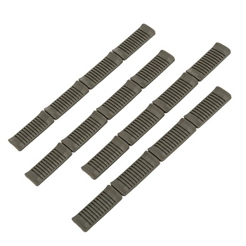 Ares M-LOK Rail Panel Covers (4er Pack) - Olive