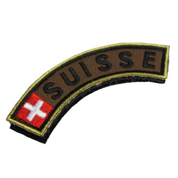 Army Patch mit Velcro - Suisse