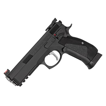 ASG Custom KJ Works X CZ 75 SP-01 Shadow ACCU Co² GBB - Black