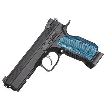 KJ Works X CZ Shadow 2 Co² GBB - Blue Grip