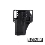 BLACKHAWK! ® CQC Gürtelholster Glock 19/23/32, links - Black