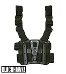 BLACKHAWK! ® CQC Tactical Holster Platform - Black