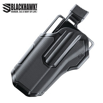 BLACKHAWK! ® Omnivore™ Non Light Bearing Level 2 MultiFit Gürtelholster , links - Black