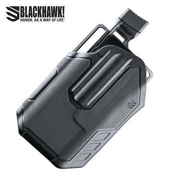 BLACKHAWK! ® Omnivore™ Light Bearing (TLR) Level 2 MultiFit Gürtelholster , links - Black