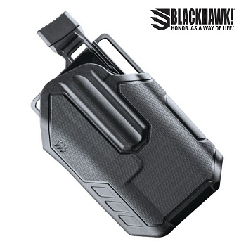 BLACKHAWK! ® Omnivore™ Light Bearing (TLR) Level 2 MultiFit Gürtelholster , rechts - Black