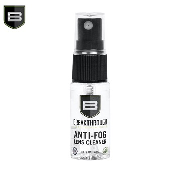 Breakthrough ® Anti-Fog Lens Cleaner - 15ml Flasche mit Sprühkopf