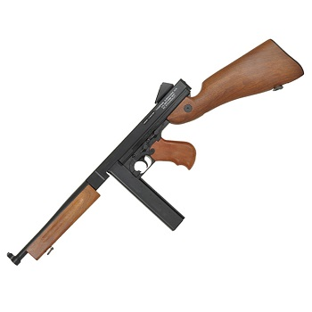Thompson M1A1 Military (Holz-Optik) AEG Set