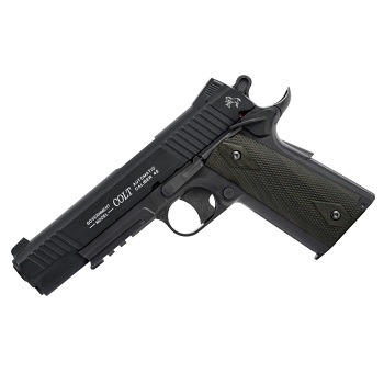 KWC x Colt 1911 Rail Gun ® Co² NBB - Blackened