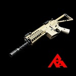 RA-Tech Custom WE Knight's PDW FDE GBBR (NPAS) - LVL 1