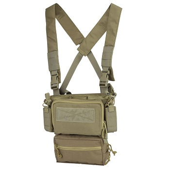 SWISS Arms Mini Rig Tactical Vest - Coyote