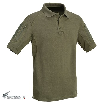 Defcon 5 ® Tactical Polo Shirt, Olive - Gr. L