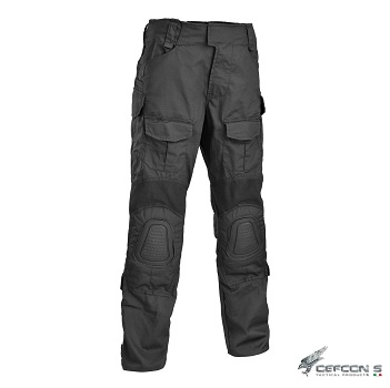 "Defcon 5 ® Gladio Tactical ACU Hose ""Black""- Gr. S / W 30"