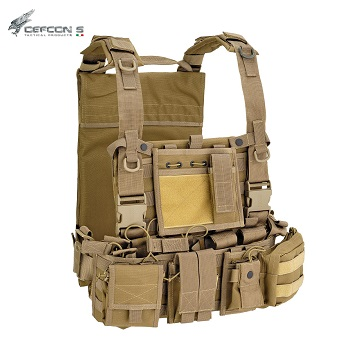 Defcon 5 ® Molle Recon Harness - Coyote Brown