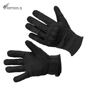 Defcon 5 ® Tactical Combat Kevlar Gloves, Black - Gr. S