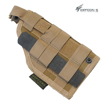 Defcon 5 ® Molle Pistol Holster (Ambi) - Coyote Brown