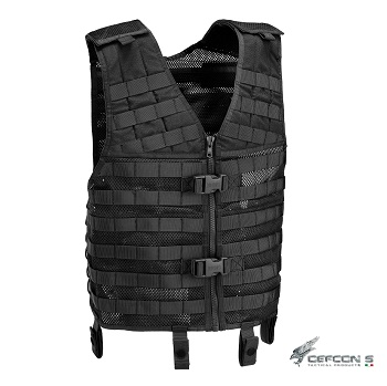 Defcon 5 ® Tactical MOLLE Vest - Black