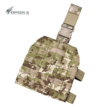 Defcon 5 ® Tactical Drop Leg Molle Platform - MultiLand