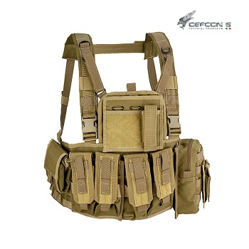 Defcon 5 ® Molle Recon Chest Rig - Coyote Brown