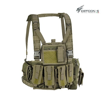 Defcon 5 ® Molle Recon Chest Rig - Olive