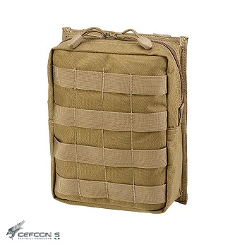 Defcon 5 ® Large Utility Molle Pouch - Coyote Brown