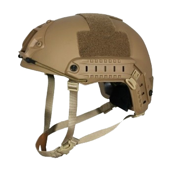 "Ballistischer Einsatzhelm FAST Level IIIA ""high cut"" - Desert"