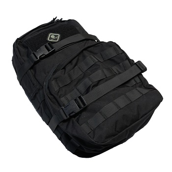 Emerson Molle Hydration Assault Pack Rucksack - Black