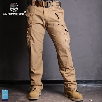 "Emerson Tactical Hose ""Coyote Brown"" - Gr. S / W 30"