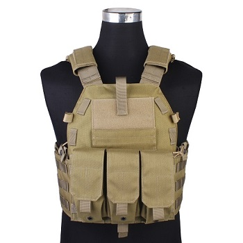 Emerson 094K Style Plate Carrier - Coyote Brown