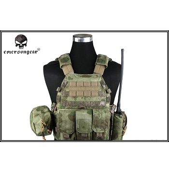 Emerson 6094A Style Plate Carrier Set - A-TACS FG