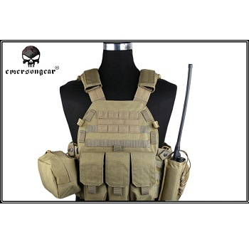 Emerson 6094A Style Plate Carrier Set - Coyote
