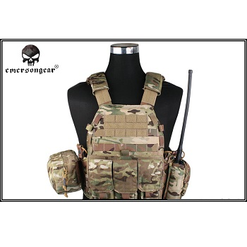 Emerson 6094A Style Plate Carrier Set - MultiCam