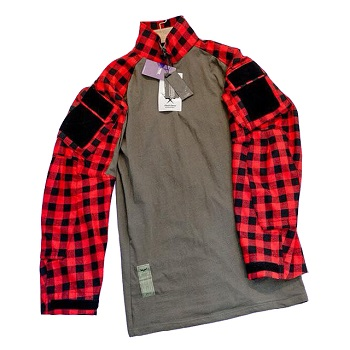 F.F.I. GEN3 TAC Lumberjacks Shirt, Red - Gr. M