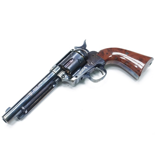 "GunHeaven Colt S.A.A. .45 ""Peace Maker"" Co² Revolver - Blue Steel"