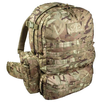 Highlander M.50 Pack Rucksack - MultiCam
