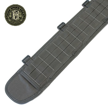 HSGI ® Sure-Grip Molle Belt, Large - Wolf Grey