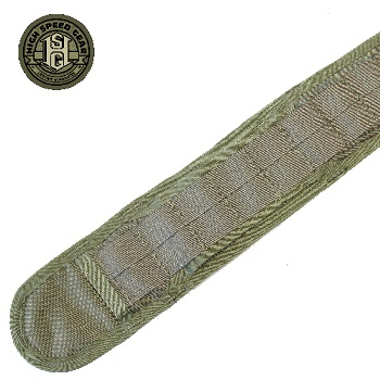 HSGI ® Slim-Grip Molle Belt, Large - Olive