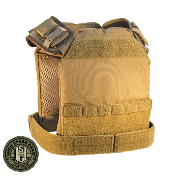 HSGI ® SPC Slick Plate Carrier (Size M) - Coyote