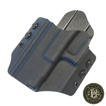 HSGI ® OWB Kydex Holster Glock Standard, links - Black