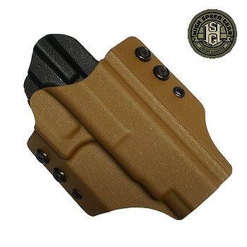 HSGI ® OWB Kydex Holster Glock Competition, rechts - Coyote Brown