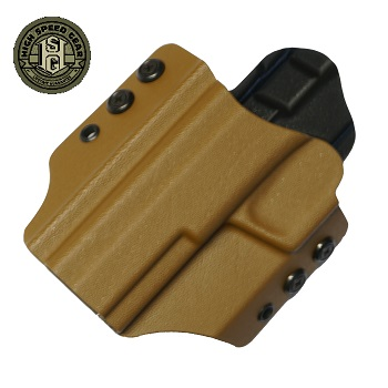 HSGI ® OWB Kydex Holster M&P Full-Size, links - Coyote Brown