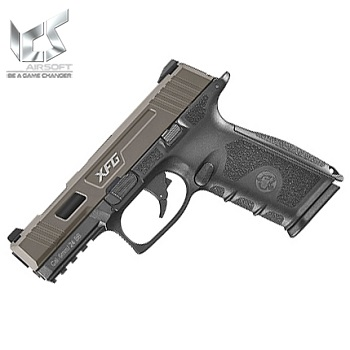 ICS BLE XFG GBB Pistol - Black / Dark Earth