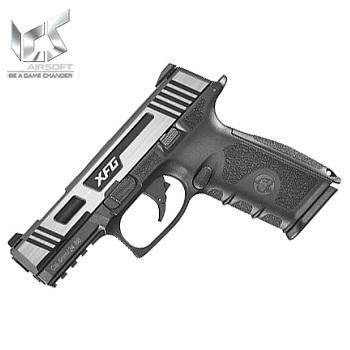 ICS BLE XFG GBB Pistol - Black / Hairline